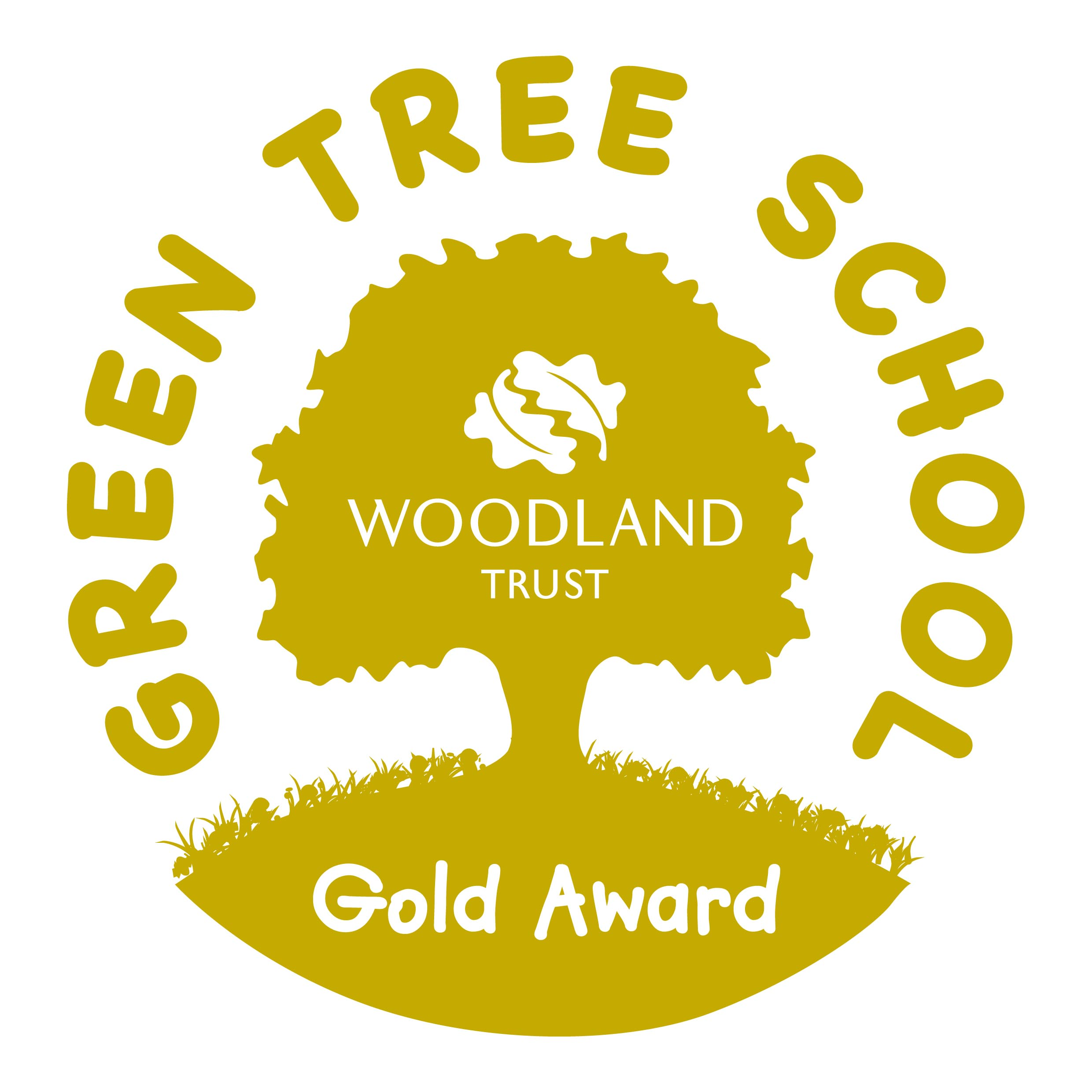 Gold award tree scheme logo